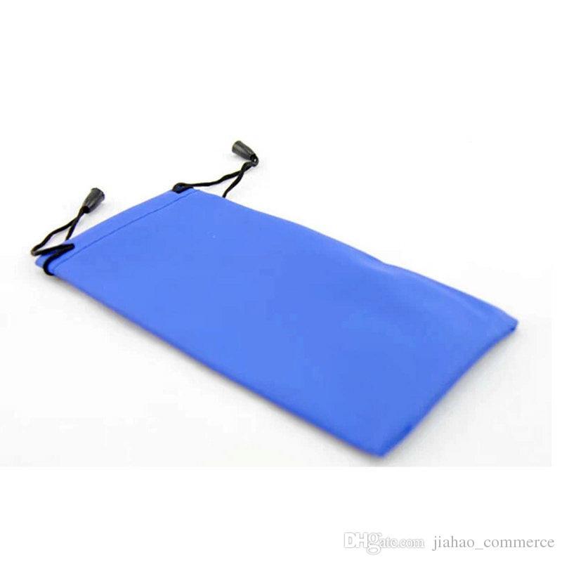 جديد الهاتف المحمول الحقيبة النظارات الشمسية نظارات 3D حالة حامل للماء لينة حقيبة حمل الحقيبة الغبار