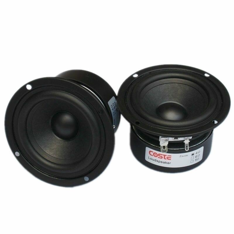 Hifi Speaker Full Range Bass Subwoofer Tweeter Adapted New 3 Inch 15 W Diy  Home Theater Loudspeaker System Audio Speakers Av Services Home Theatre  Setup ...