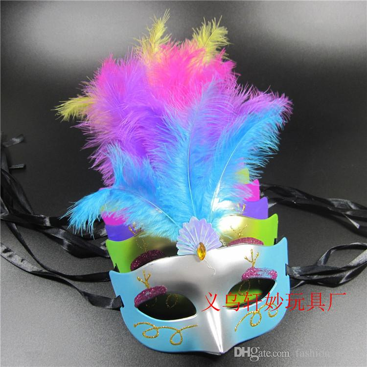 Halloween Party Feather Masks Masquerade Decorations Masks for Masquerade Ball Masks School Masquerade DHL/Fedex Shipping
