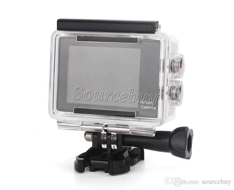 "Mini Waterproof DV Original H9 +Extra Battery +Dock Charger EKEN 4K Sport Camera WIfi HD 1080P 170D 2"" LCD 12MP Helmet Action Cam"