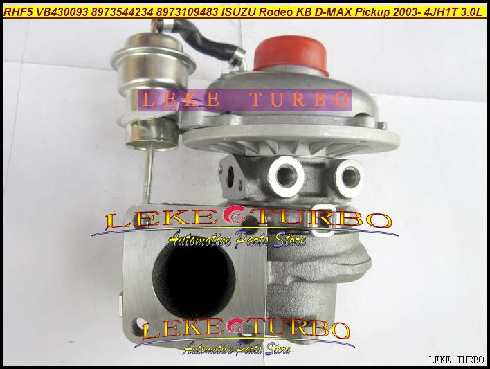 RHF5 VB430093 8973544234 8973109483 ISUZU Rodeo KB D-MAX Pickup 2003- 4JH1T 3.0L 130HP turbocharger (2)