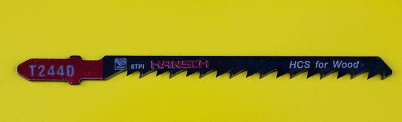 lâmina curva de aço de alto carbono serra para madeira de conjunto hans6001