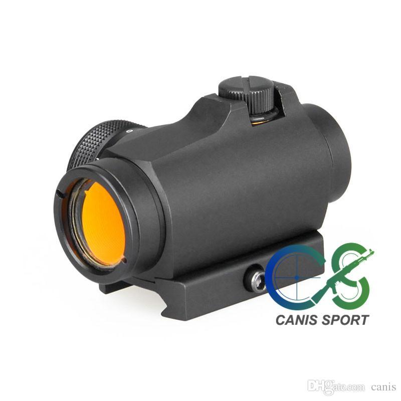 Açık Spor Ücretsiz Kargo CL2-0106 için PPT Yeni Geliş Taktik 1x Red Dot Kapsam Büyütme 1X Siyah