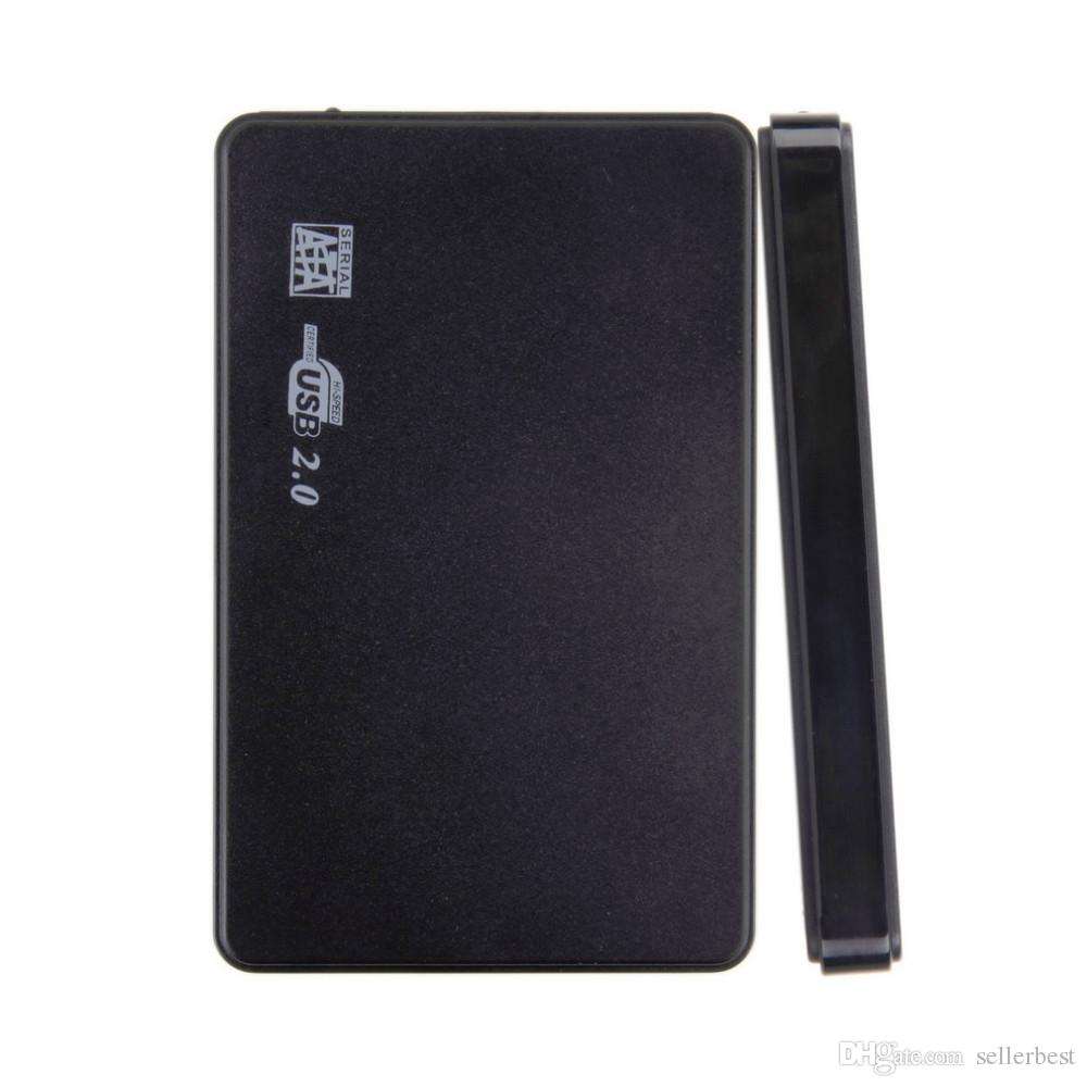 Screwless USB 2.0 480Mbps корпус случае коробка мобильный диск для HDD SSD ноутбук 2.5