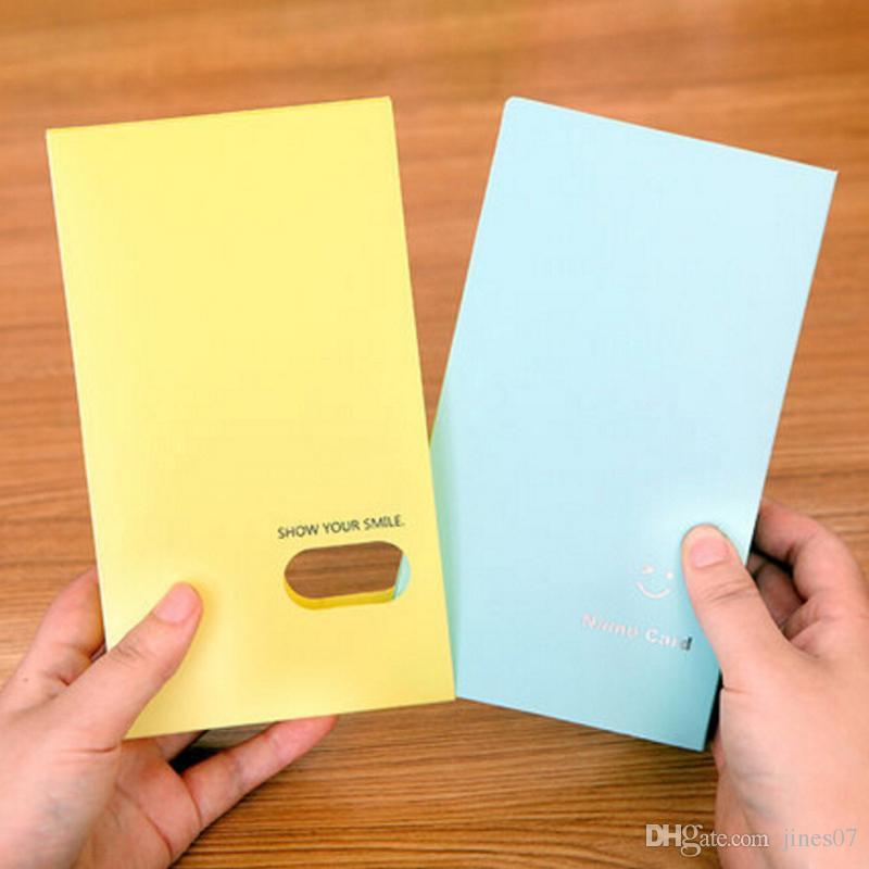 Tarjeta de gran capacidad Stock 120 Slots Business Name Card Organizer Escuela de alta calidad Material de oficina Book Holder Mujeres Card Case