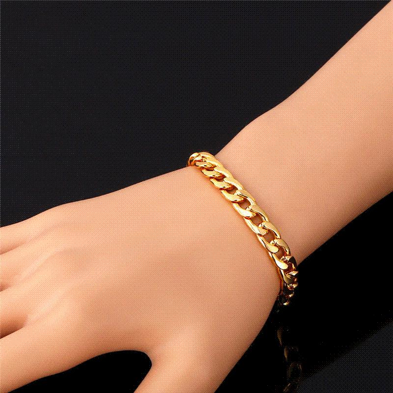 meaeguet bangle cuff bracelets for gold women item bracelet stainless color steel wire crossover trendy plated cable set