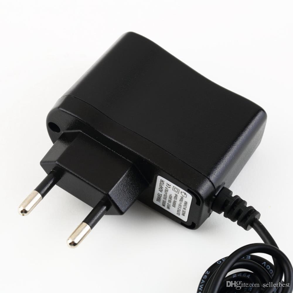 1.2 M 5 V 500 mA Carregador De Parede para Nintendo para DSi para NDSi LL XL 3DS Adaptador de Alimentação AC Carregador de Viagem UE EUA Plug
