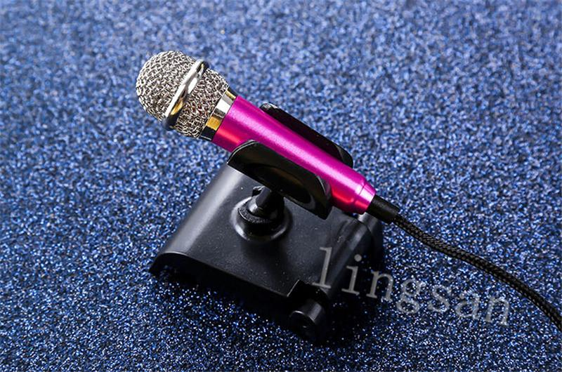 Professional Surrounding Noise Cancelling High Fidelity Mini microphone lavalier For Mobile/PC/Laptop For Karaoke Podcast Music Record