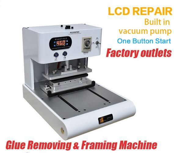 Glue Removing&Framing Machine Frame Install Laminate Machine Bracket ...