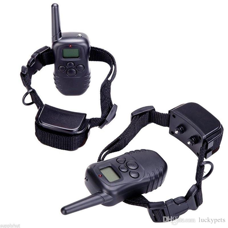 Pet Training Supplies Remote Control Electronic Dog Training Collar Pet Stop Barking Device One to One DHL Free 161008