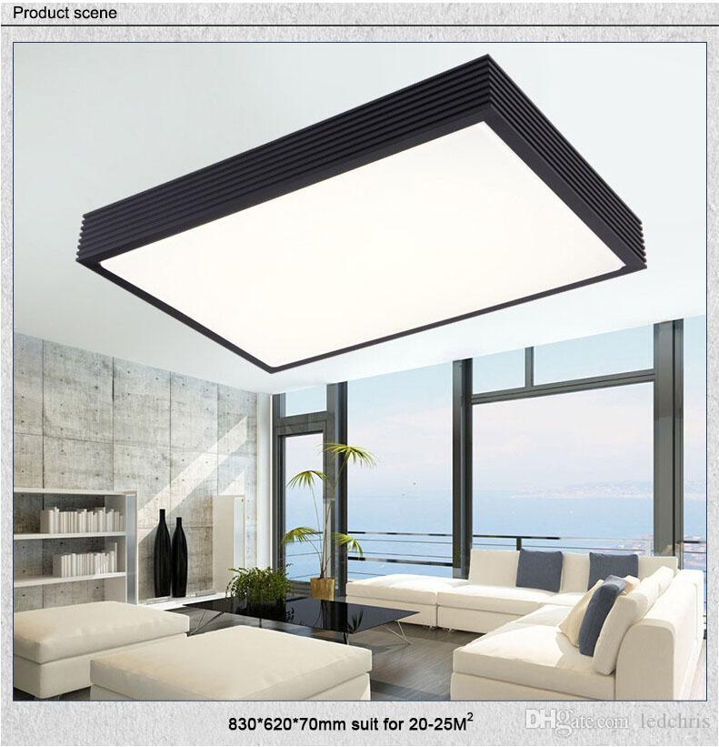 Modern led ceiling light dimmable sliver hardware case acrylic modern led ceiling light dimmable sliver hardware case acrylic lampshade home livingroom bedroom led ceiling lamps with remote control led ceiling light mozeypictures Choice Image
