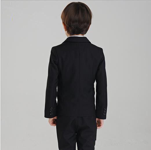 소년의 공식적인 정장 소년의 정장에 소년의 패션 드레스 소년의 결혼식 정장 턱시도 정장 자켓 + 바지