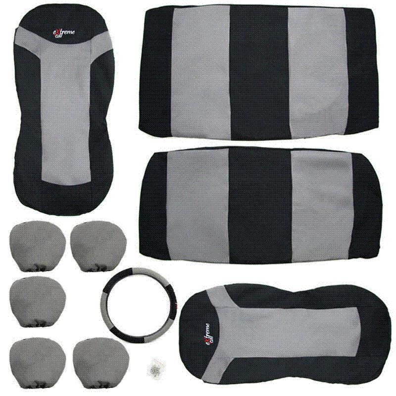 Polyester Nylon Car Seat Covers 86