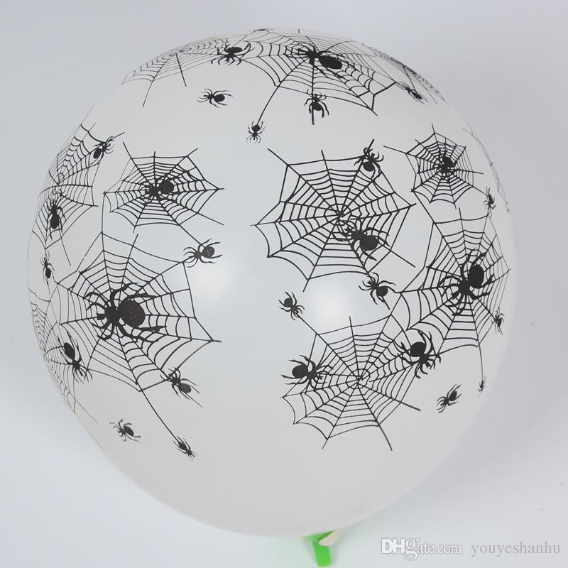 Balloon Party Decoration zucca di Halloween di stile del cranio