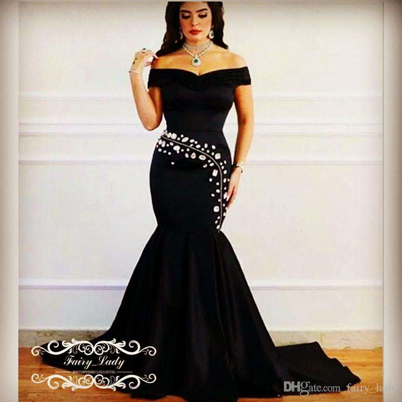 Black and silver prom dresses 2018
