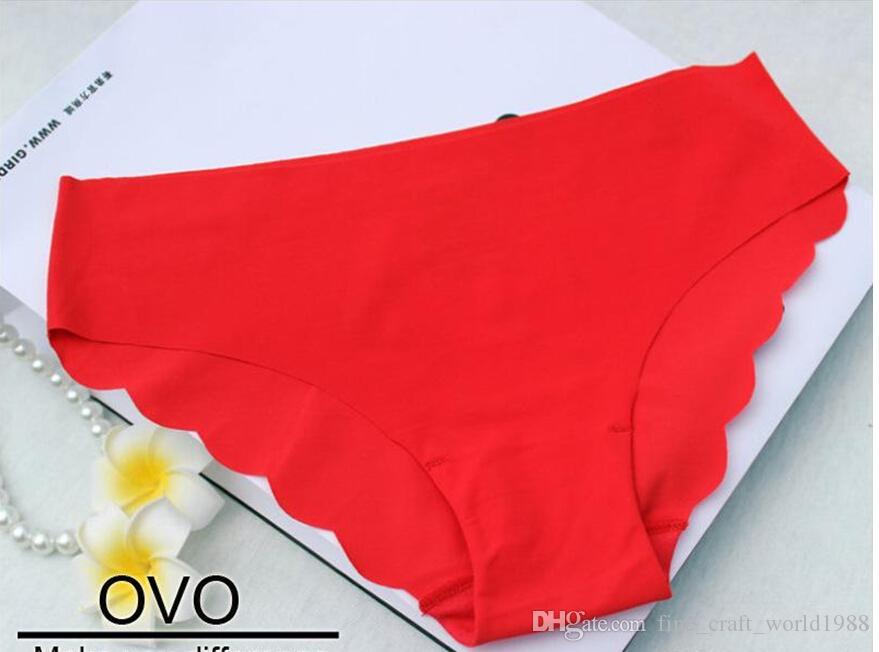 Sexy Briefs tela ultrafina delgada ropa interior mujeres sin costuras bragas para damas niñas escritos sin fisuras para el envío gratis