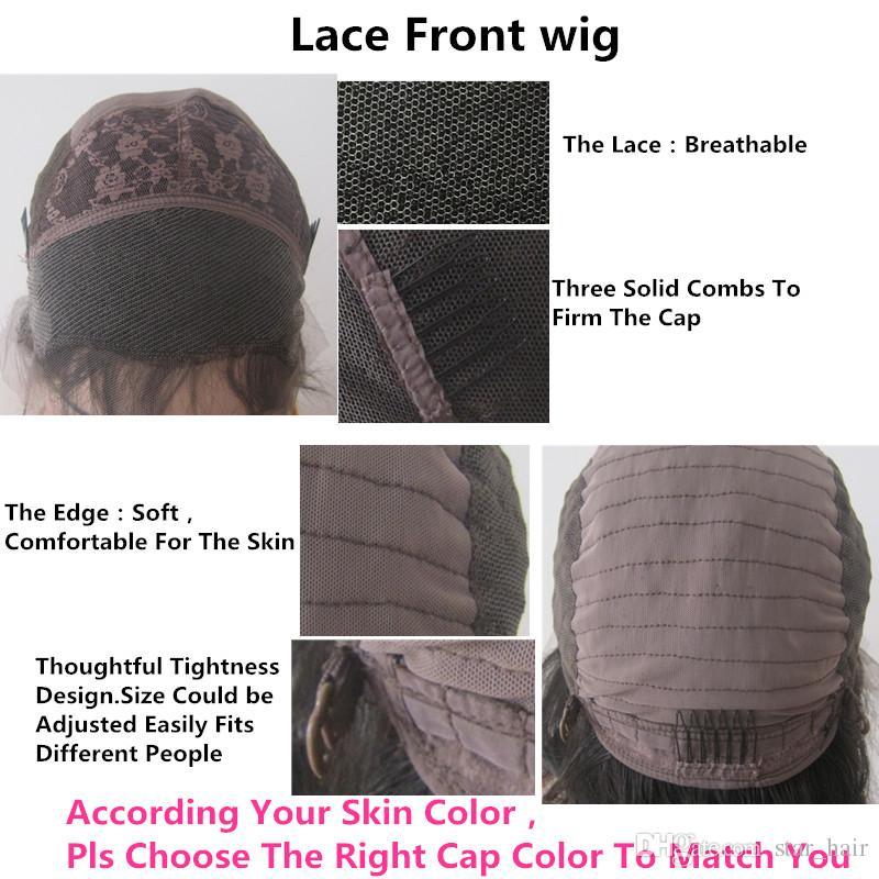 Full Lace Wigs Avec Bébé Cheveux Dark Roots 1B Gris Perruques De Cheveux Humains Ombre Soyeux Dentelle Droite Perruque Avant Deux Ton