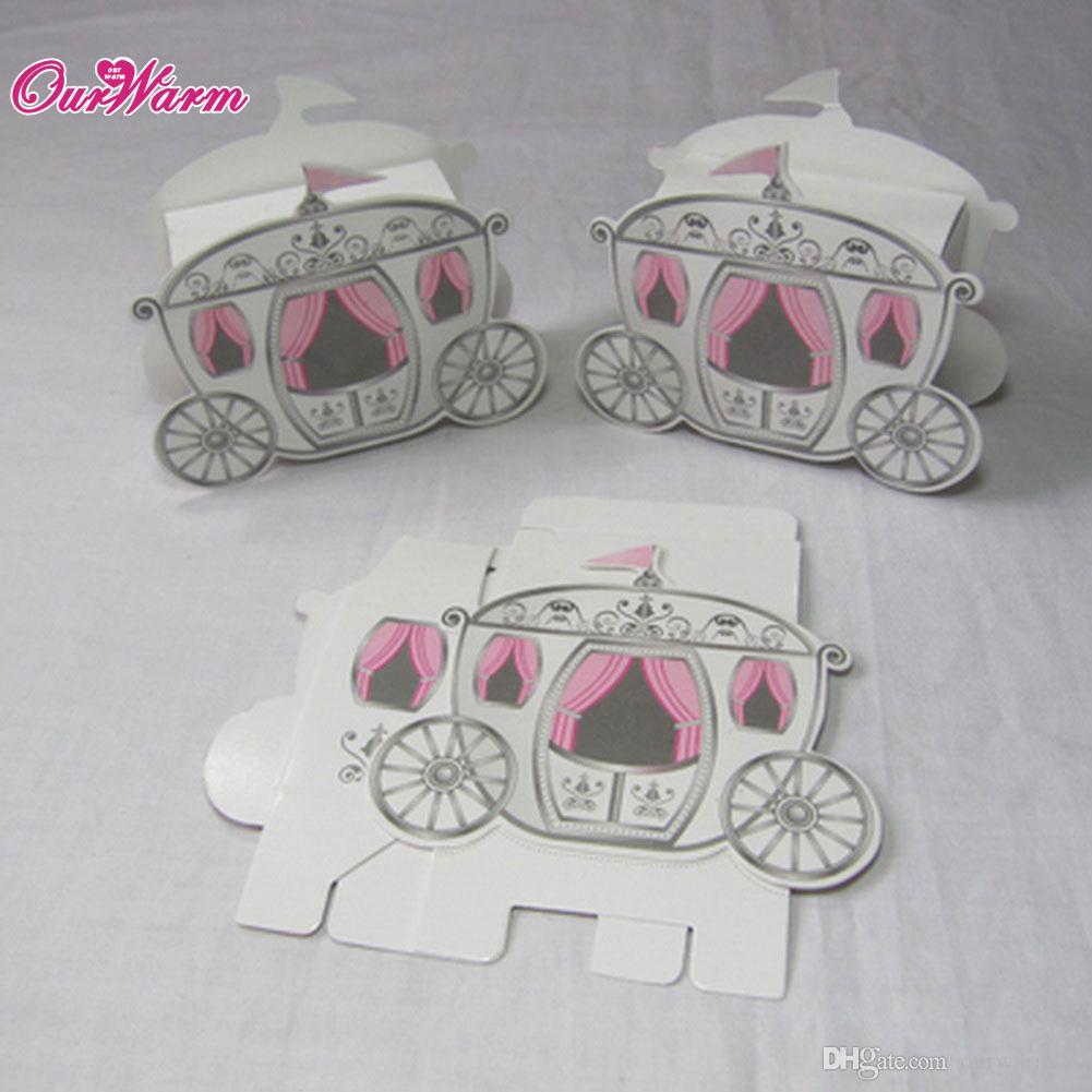 Wholesales Cinderella Enchanted Carriage Marriage Box Wedding Favor ...