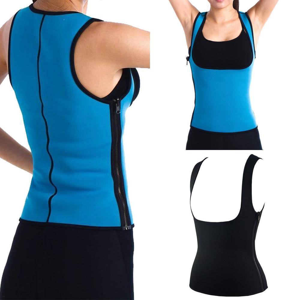 3936278d65 2019 Wholesale New Fashion Women Neoprene Slimming Vest Belt Sweat Shaper  Body Shaper Weight Loss From Volontiers