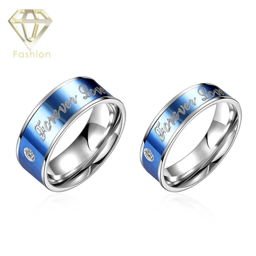 punk on lena stainless band item rings keisha in steel accessories titanium from with ring line blue jewelry wedding thin bright men brand stone new
