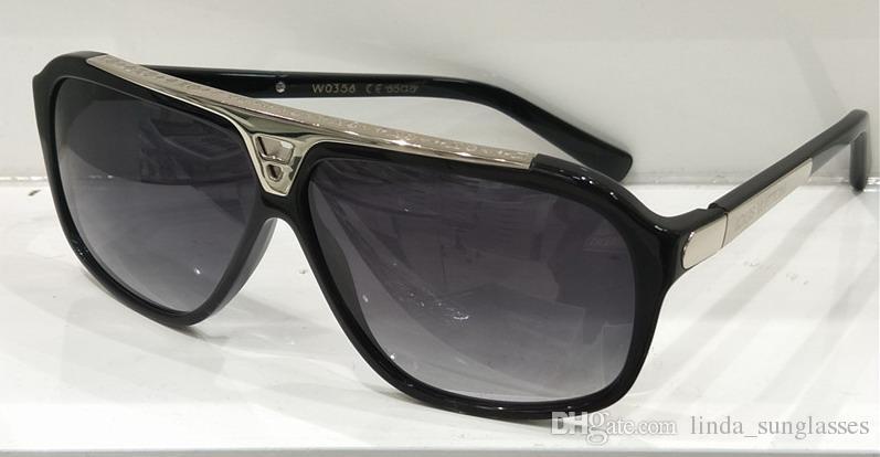 Frauen Stud Polit Sonnenbrillen Braun Farbverlauf Übergroße Sonnenbrillen Designer Sonnenbrillen Neu mit Box