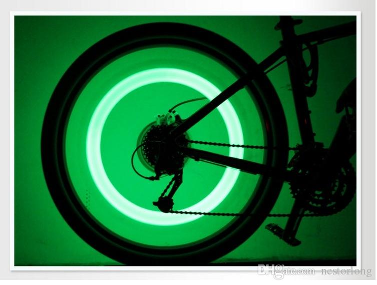 hot sale bike bicycle cycling spoke wire tire tyre wheel led bright light lamp