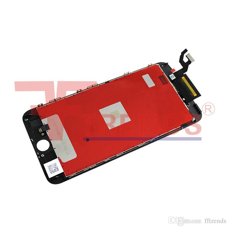 Черный белый для iPhone 6 S плюс ЖК-дисплей Ассамблеи 5.5-дюймовый дисплей с сенсорным экраном Digitizer 3D сенсорный замена Бесплатная доставка 100% тестирование