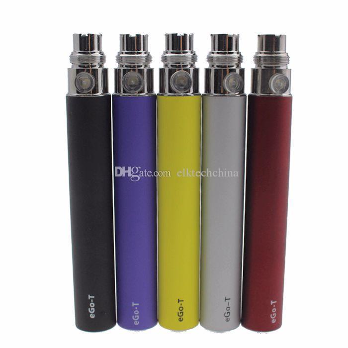 eGo-t ecig bateria não-ajustável - 650mAh 900mAh 1100mAh cigarro eletrônico bateria 510 thread para ce3 ce4 atomizador mt3 protank h2