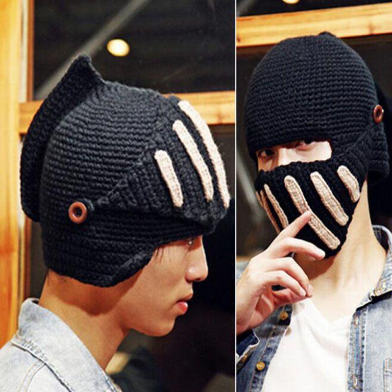 Knitted Wool Hat Rome Knight Hats Fashion Hatsmasks Winter Beanie