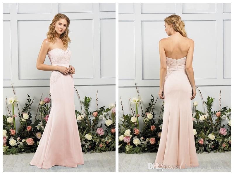Ziemlich Brautjungfer Kleider Blush Fotos - Brautkleider Ideen ...