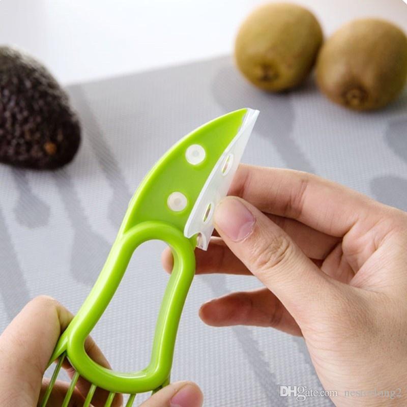 2016 vendita calda 3-in-1 Avocado affettatrice frutta avocado cutter cutter affettatrice buone gadget da cucina accessori utensili da cucina