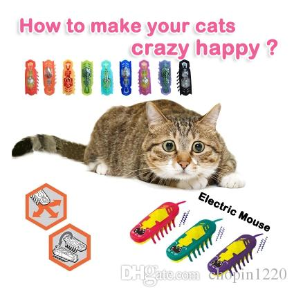 Robot Cat Toy >> Newest Amazing Mini Animal Toys Fun Pet Toys Robotic Insect