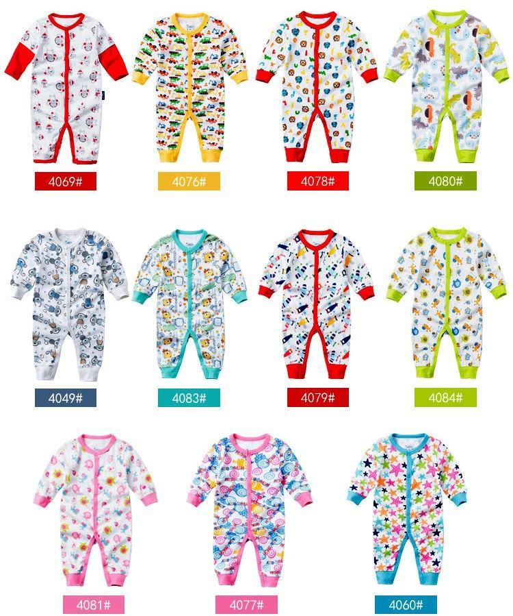 Christmas Baby Romper Combinaison Combinaison PlaySuit Body Snowsuit Rompers Enfants Premiers mouvements Automne bébé coton à manches longues Jumpsuits