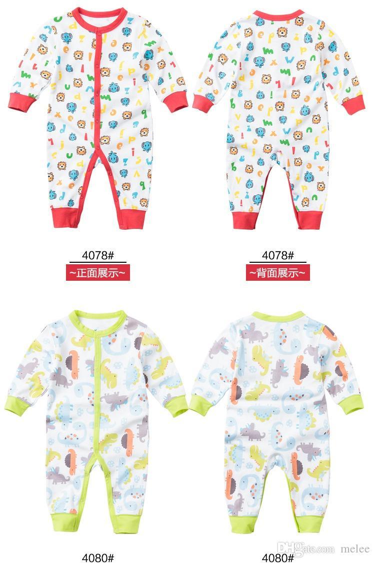 크리스마스 아기 romper jumpsuit playsuit bodysuit snowsuit rompers 어린이 첫 번째 움직임 가을 아기 면화 긴 소매 jumpsuits