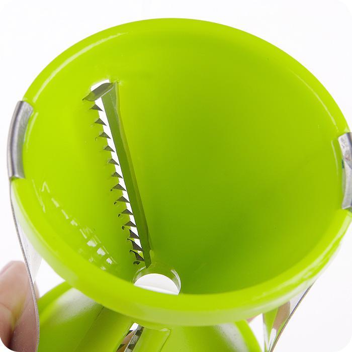 3 Cores Kitchen Room Grater Espiral Vegetal Slicer Fácil Espiral Vegetal Spiralizer Slicer Twister Cuisine Cortador