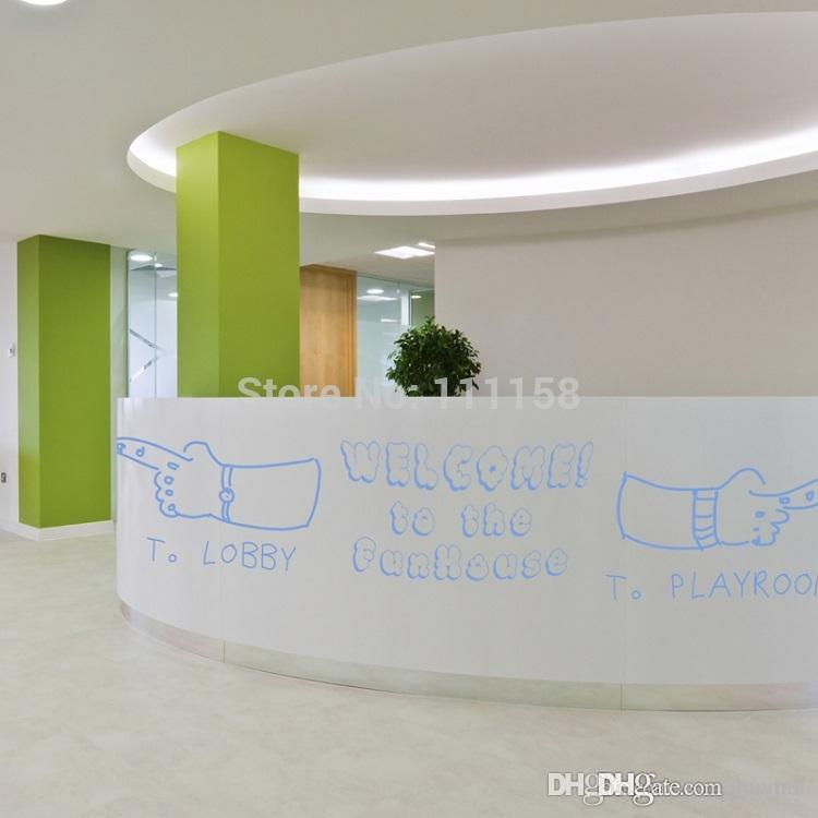 2019 90*200cm 2m big pvc removable whiteboard wall stickers for