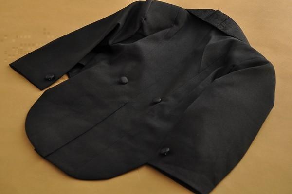 Baby Boy Five pieces clothing set Children tuxedo kids formal wedding suit Baby Boys Blazers suits black white 1-4T
