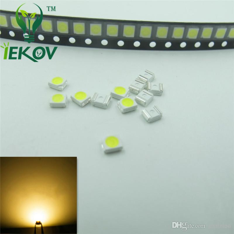 PLCC-2 1210 3528 Warm White LED SMD Ultra Bright Light Emitting diodes 3.0-3.2V High quality SMD/SMT Chip lamp beads