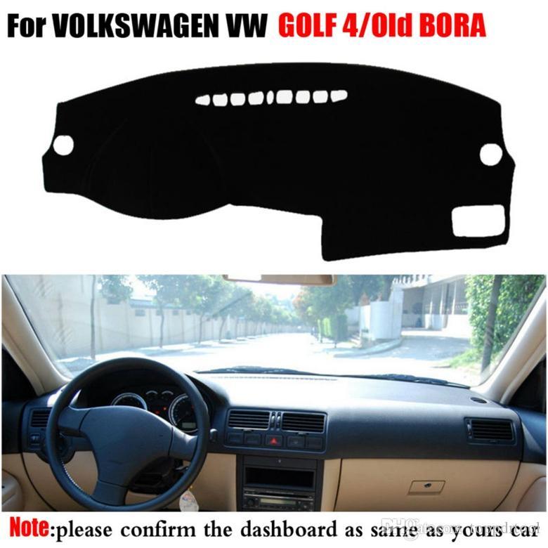 Приборной панели автомобиля Обложка для VOLKSWAGEN VW GOLF 4 1997-2003 Или Старый BORA 1998-2005 Левая рука Drives Dashmat Pad Даш крышки Аксессуары