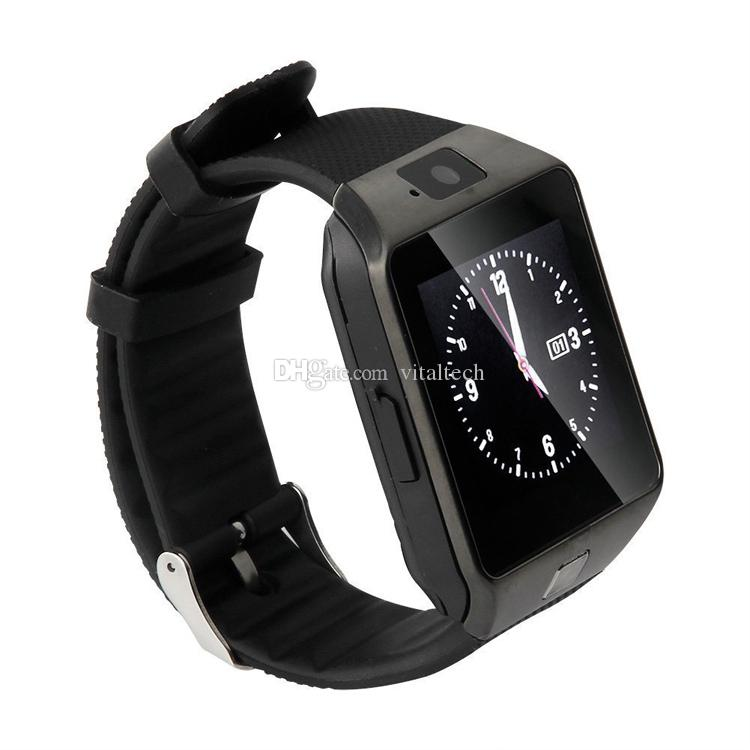 Smartwatch DZ09 Bluetooth Smart Watch With SIM Card Slot For Apple Samsung IOS Android Cell phone 1.56 inch smart watches pk gt08