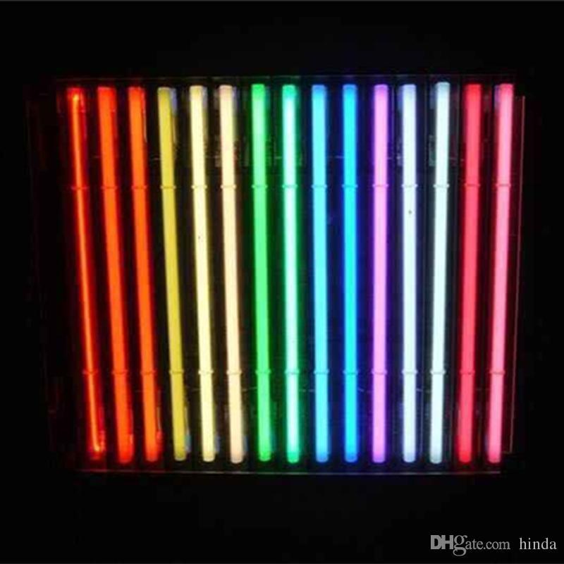 17 * 14 zoll Personalisierte Glas Leuchtreklame LED Licht DIY Flex Seil Licht Zeichen Indoor / Outdoor Dekoration RGB Spannung 110 V-240 V