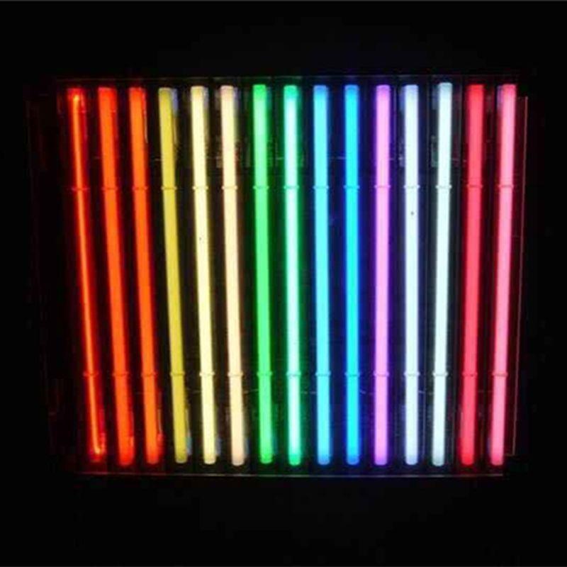DIY Glas LED Neon Zeichen LED Flex Seil Licht für Indoor / Outdoor Dekoration RGB Spannung 110 V-240 V 17 * 14 zoll