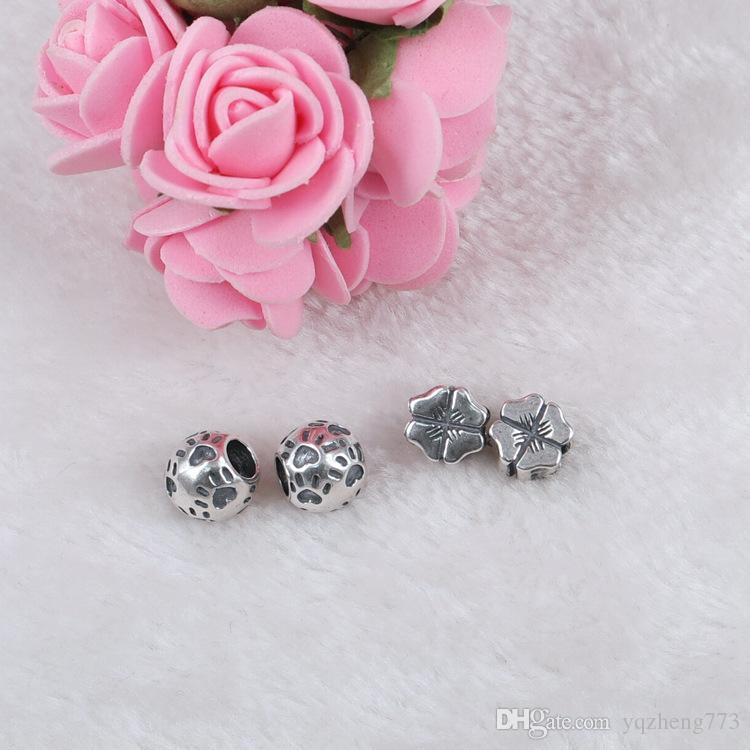 gioielli moda fai da te argento 925 gioielli in argento charms con 925 gioielli in argento sterling misura braccialetto fai da te J20511