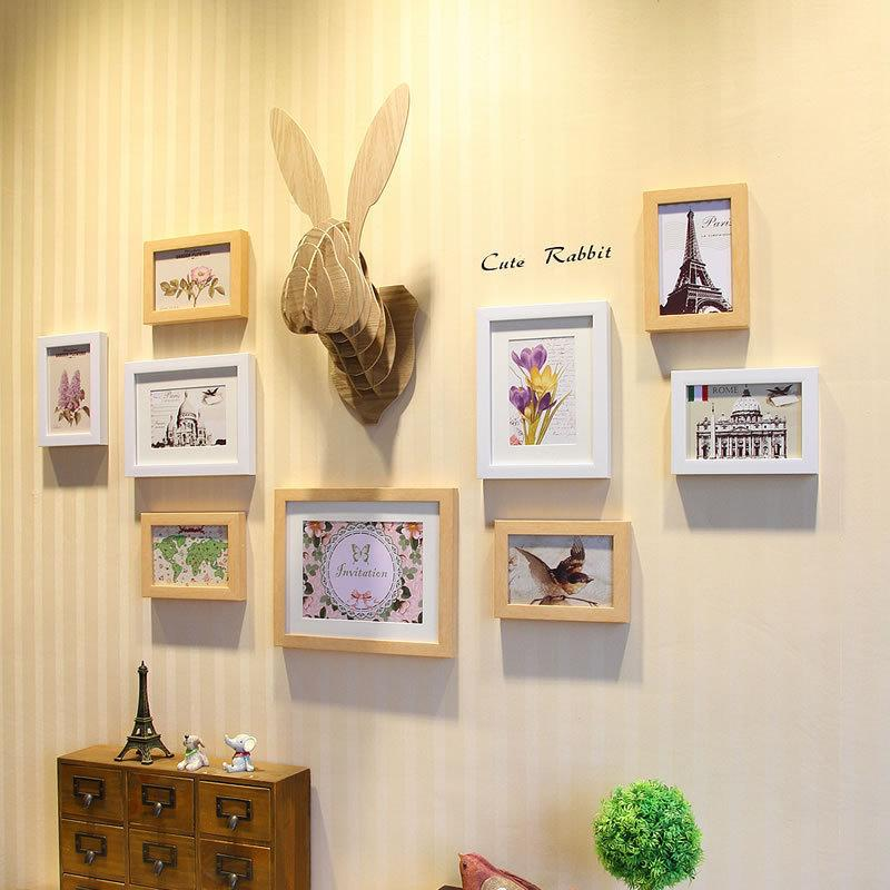 Wood Animals Head For Decoration Cute 3d Wood Bunny Head Wall ...