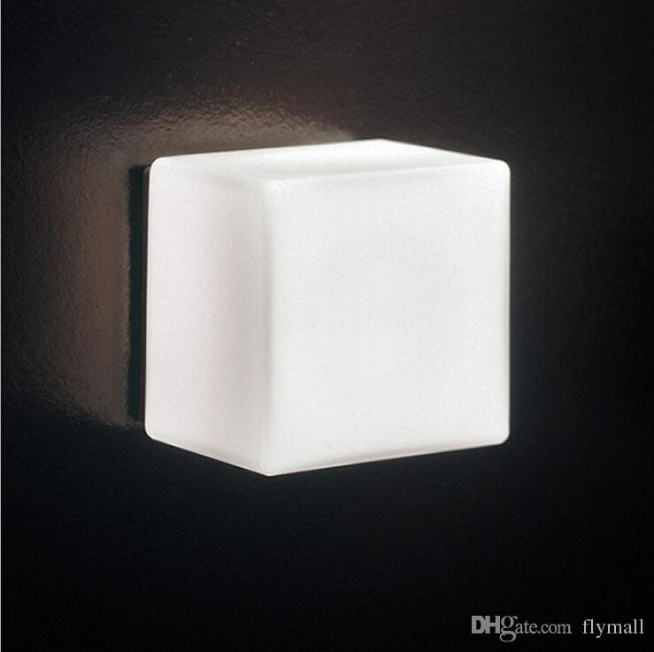2018 led sugar ice cube wall lamp white glass ceiling light 2018 led sugar ice cube wall lamp white glass ceiling light background light barasile ice brick lamp backdrop light indoor wall light from flymall aloadofball Image collections
