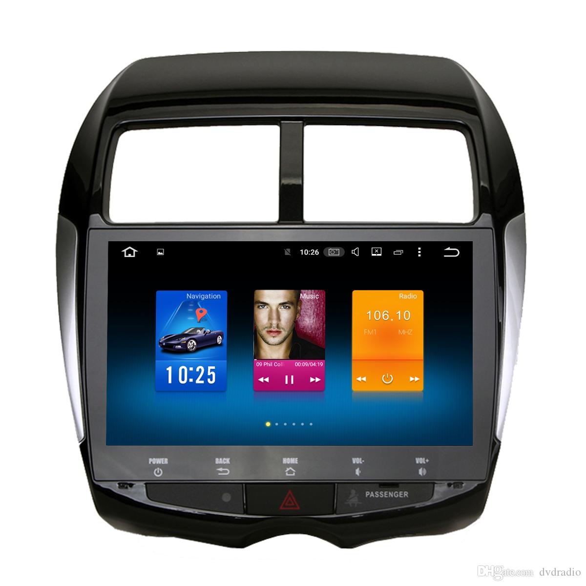 10.2 Android 6.0 System Car DVD Radio For Mitsubishi ASX