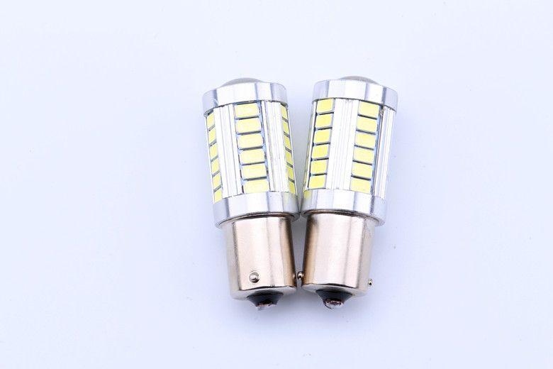 1156 p21W 18W клин Cree 5630 авто сигнал угол задний тормоз светодиодные лампы красный белый