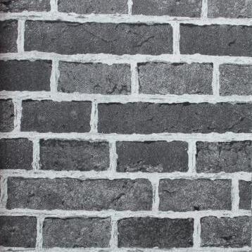 Acheter Pvc Gris 3d Brique Papier Peint Pour Murs Nature 3d Papier