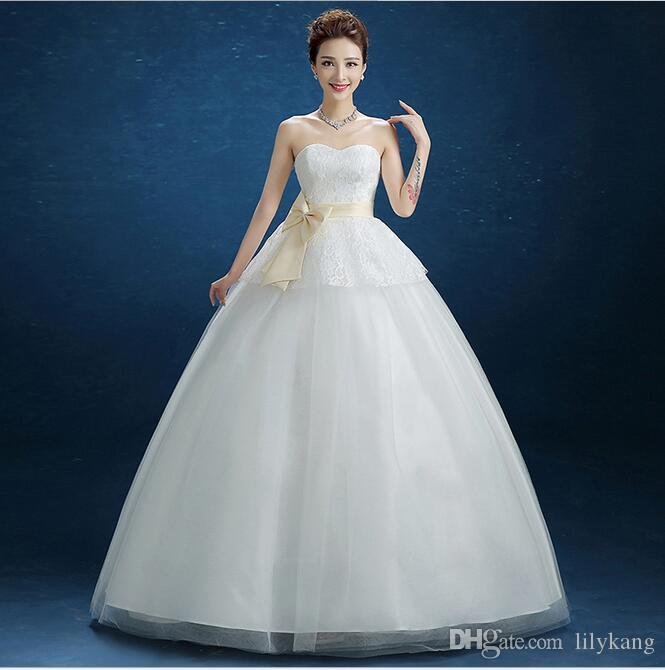 Bride use Sleeveless Design and Tulle Fabric Type ball gown wedding dresses and Lace Decoration Wedding gown