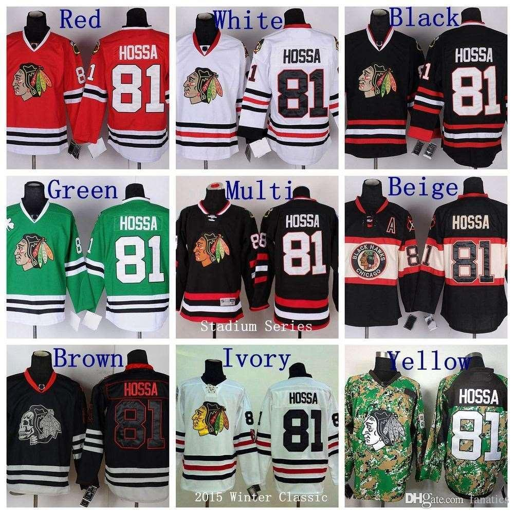 207ae963482 2016 Winter Classic #81 Marian Hossa Jersey Chicago Blackhawks Jerseys Red  New Camo Green Black Skull Stitched Hockey Jerseys Hockey Home Jersey Color  ...